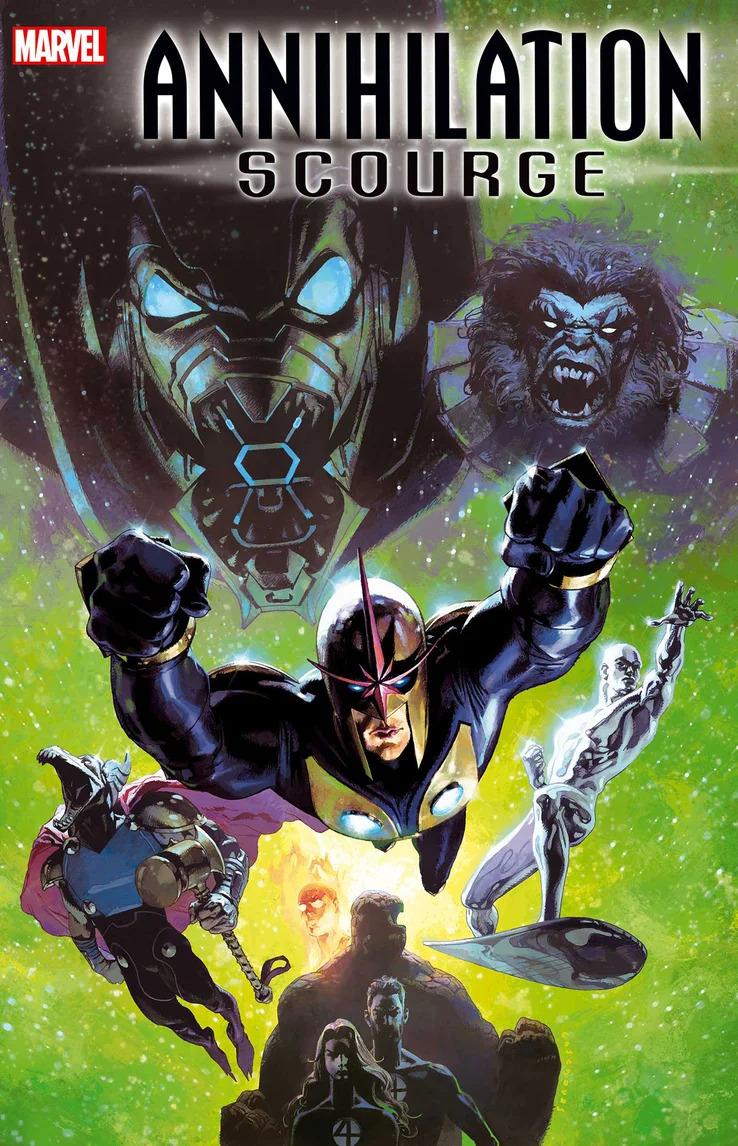 Annihilation: Scourge Alpha #1, copertina di Josemaria Casanovas