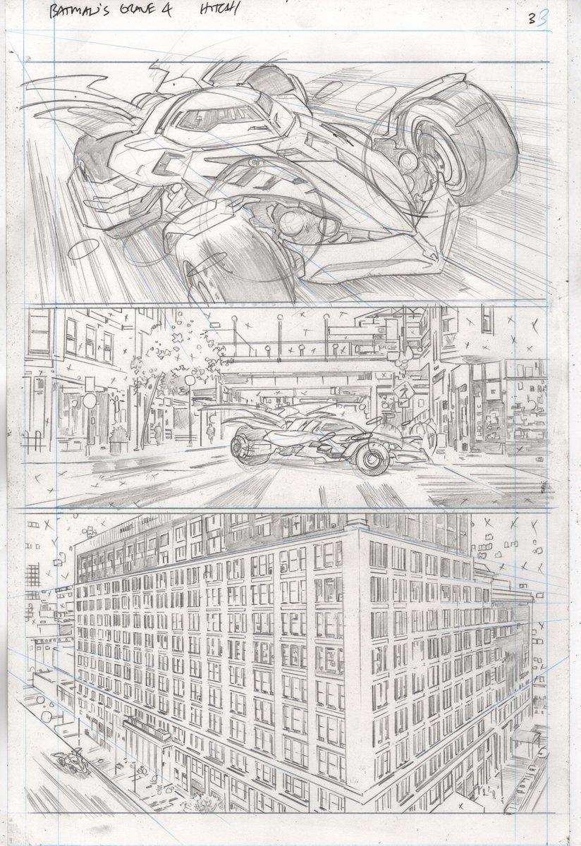 Batman's Grave, anteprima 01 (matite)