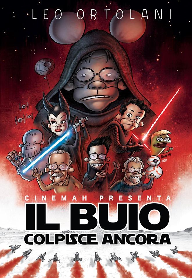 CineMAH presenta: Il buio colpisce ancora, variant cover di Leo Ortolani