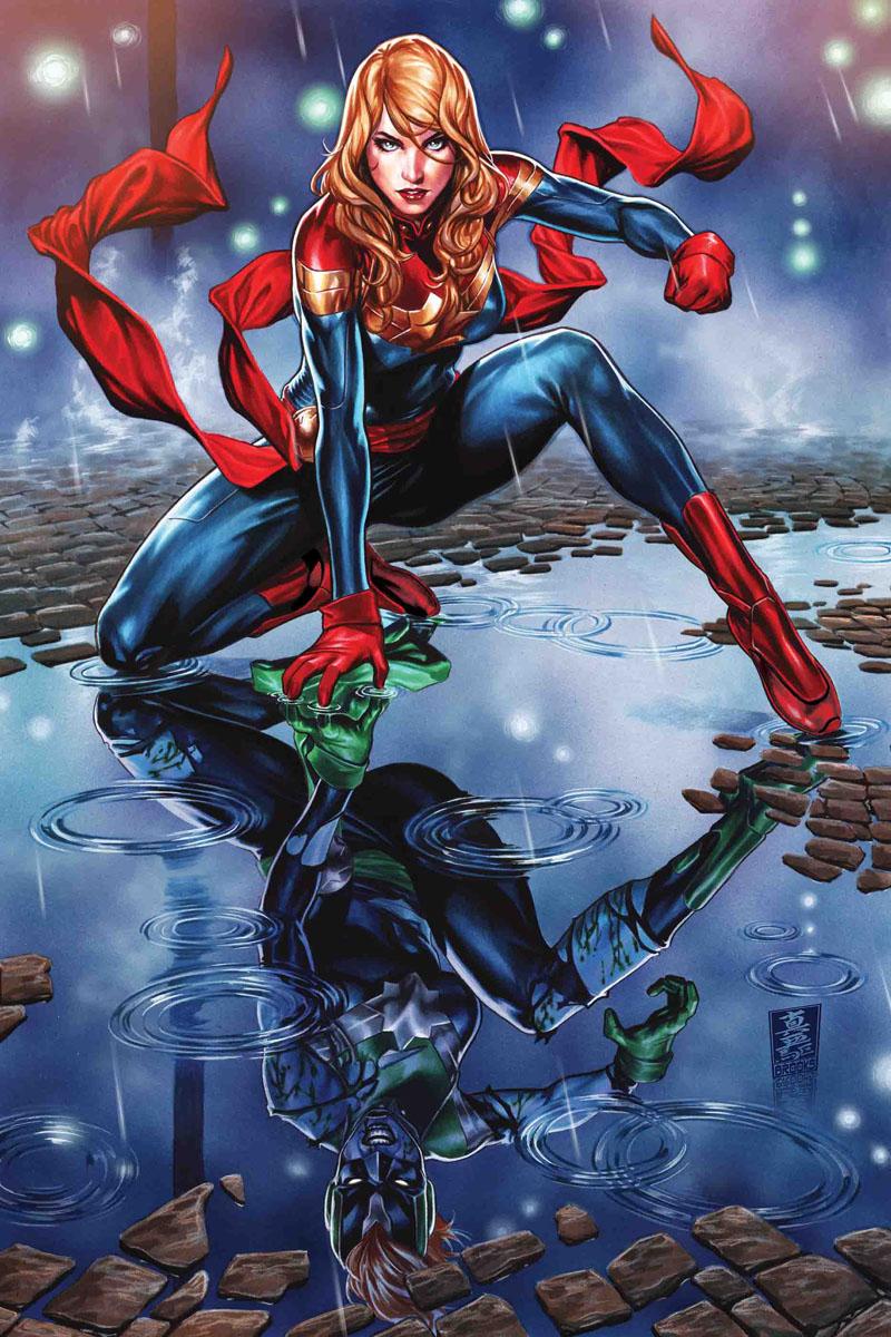 Captain Marvel #9, copertina di Mark Brooks