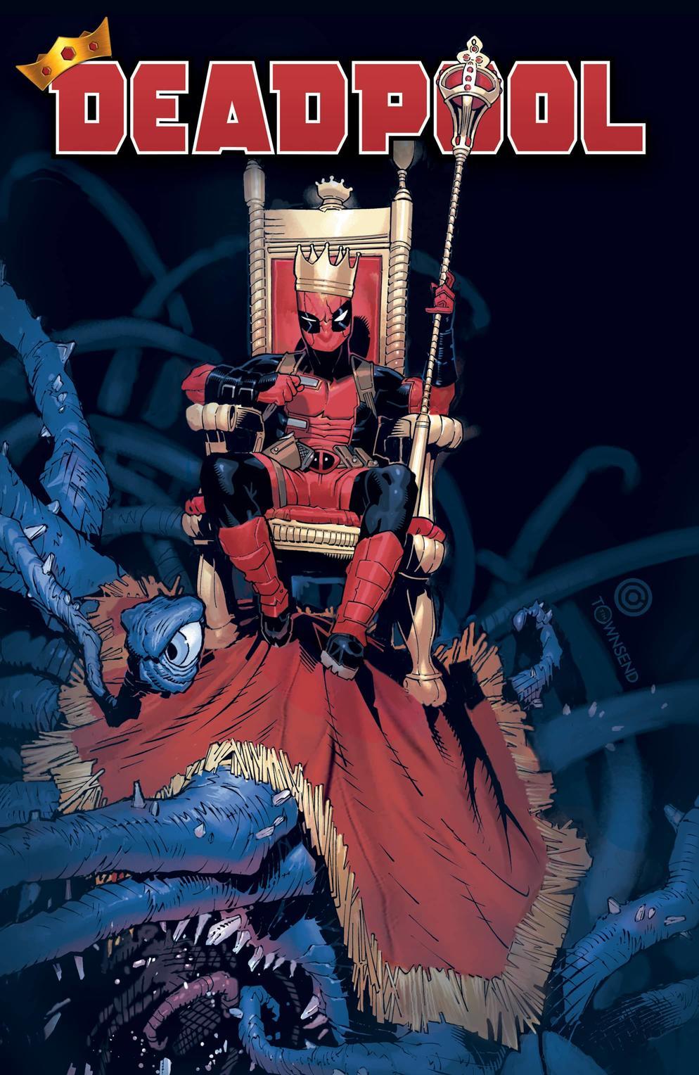 Deadpool #1, copertina di Chris Bachalo