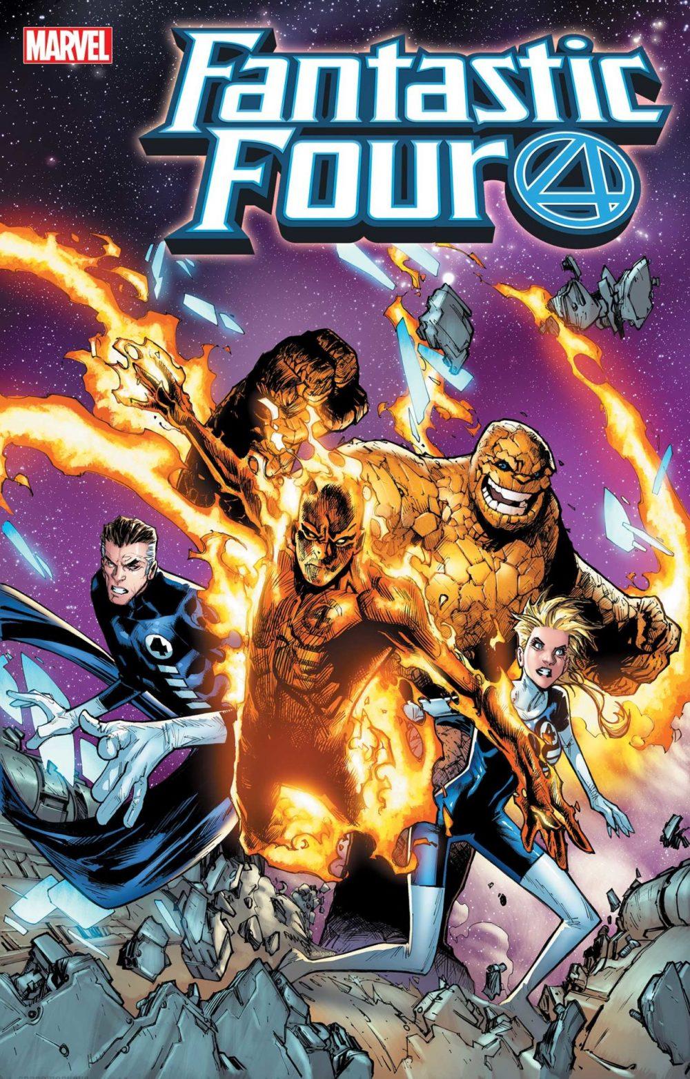 Fantastic Four 2099 #1, variant cover di Humberto Ramos