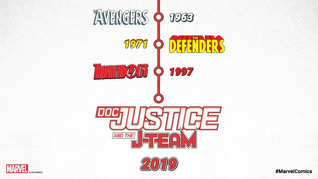 Infografica Doc Justice and the J-Team
