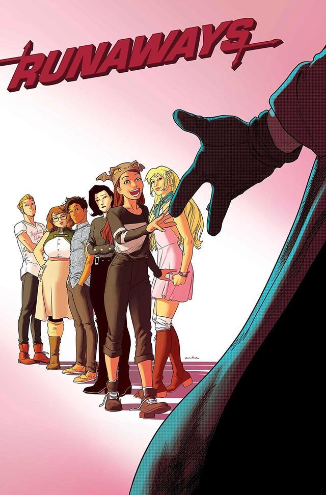 Runaways #25, copertina di Kris Anka