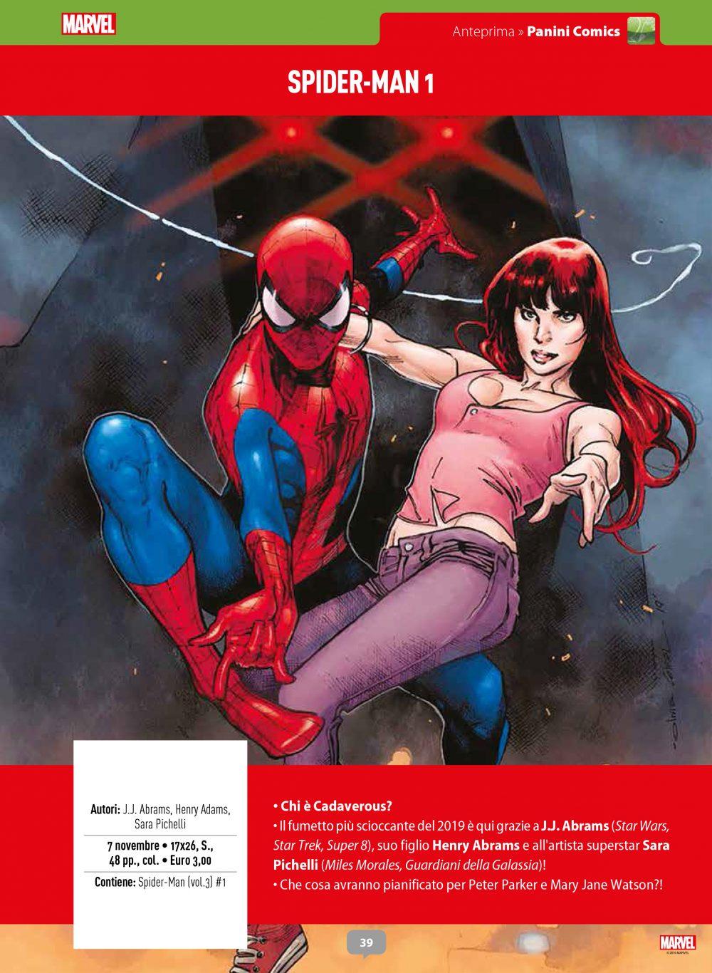 Spider-Man su Anteprima