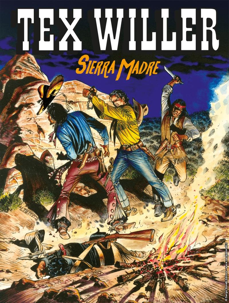 Tex Willer 9: Sierra Madre, copertina di Maurizio Dotti