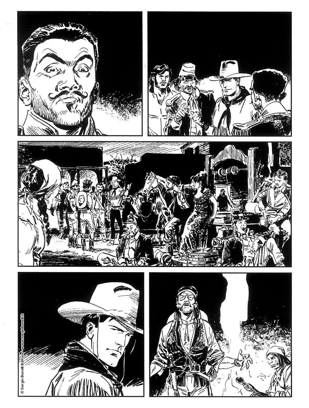 Tex Willer 8: La prigioniera, anteprima 03