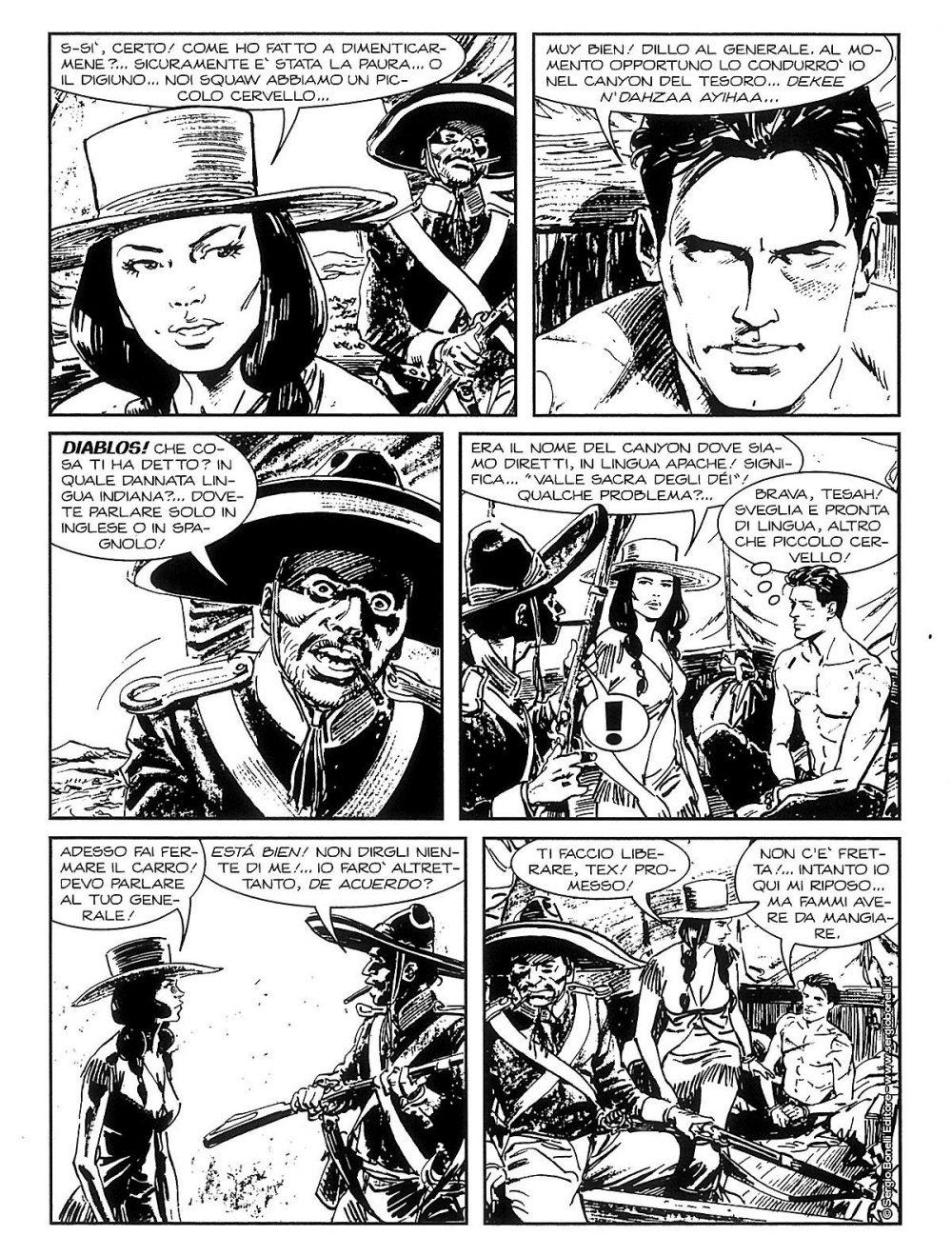 Tex Willer 9: Sierra Madre, anteprima 02