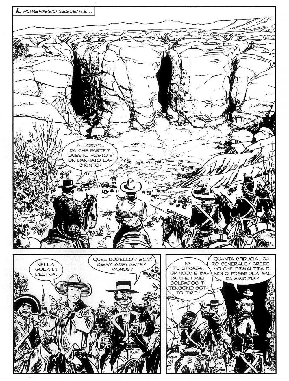 Tex Willer 9: Sierra Madre, anteprima 03