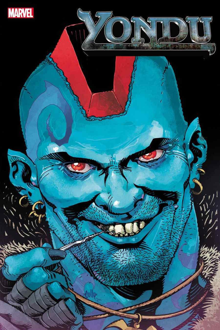 Yondu #1, copertina di Cully Hamner