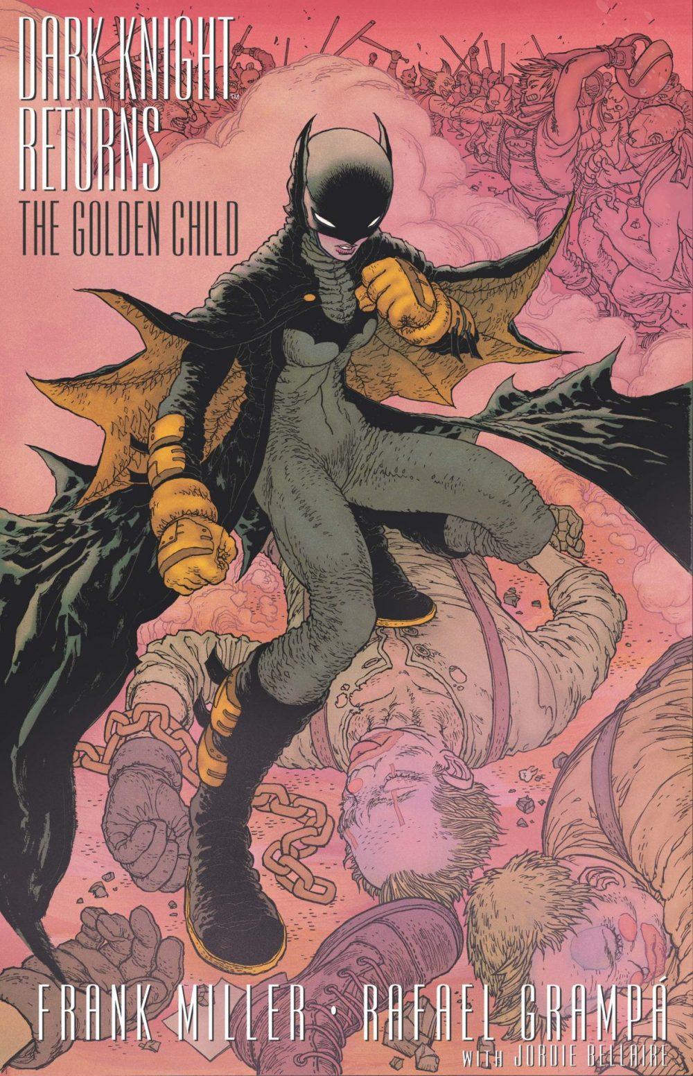 Dark Knight Returns: The Golden Child #1, copertina di Rafael Grampà