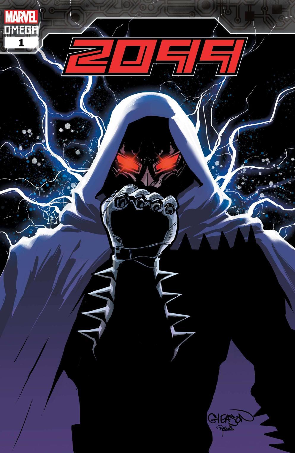 2099 Omega #1, copertina di Patrick Gleason