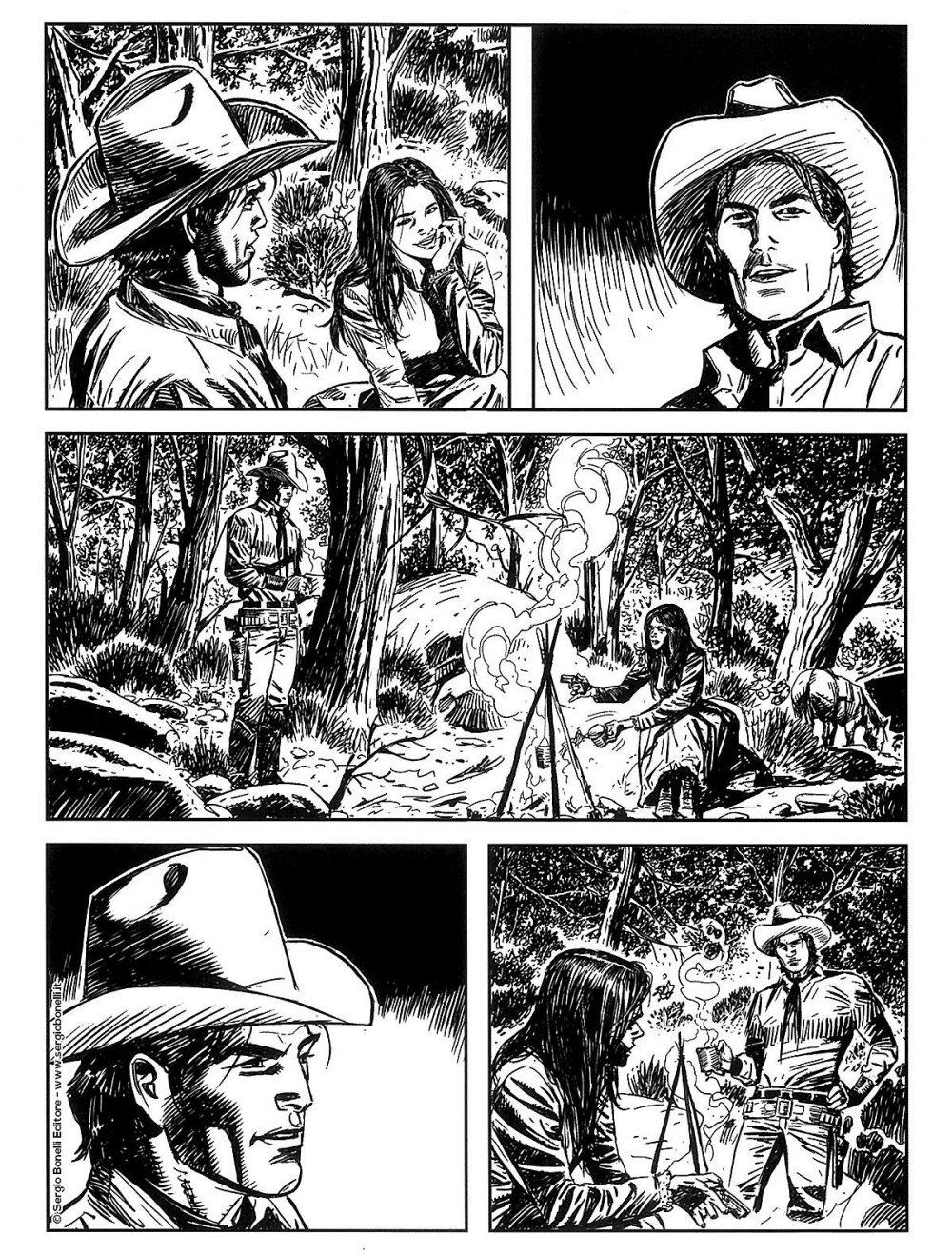 Tex Willer 10: Pinkerton Lady, anteprima 04