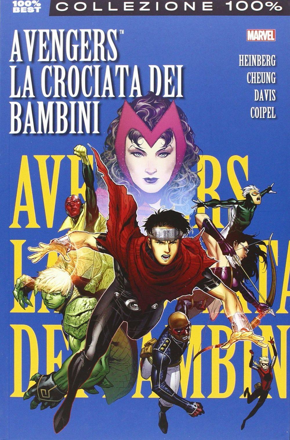 La Crociata dei Bambini. Avengers, copertina di Jim Cheung