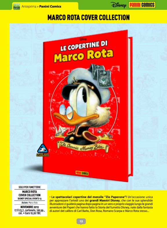 Marco Rota Cover Collection
