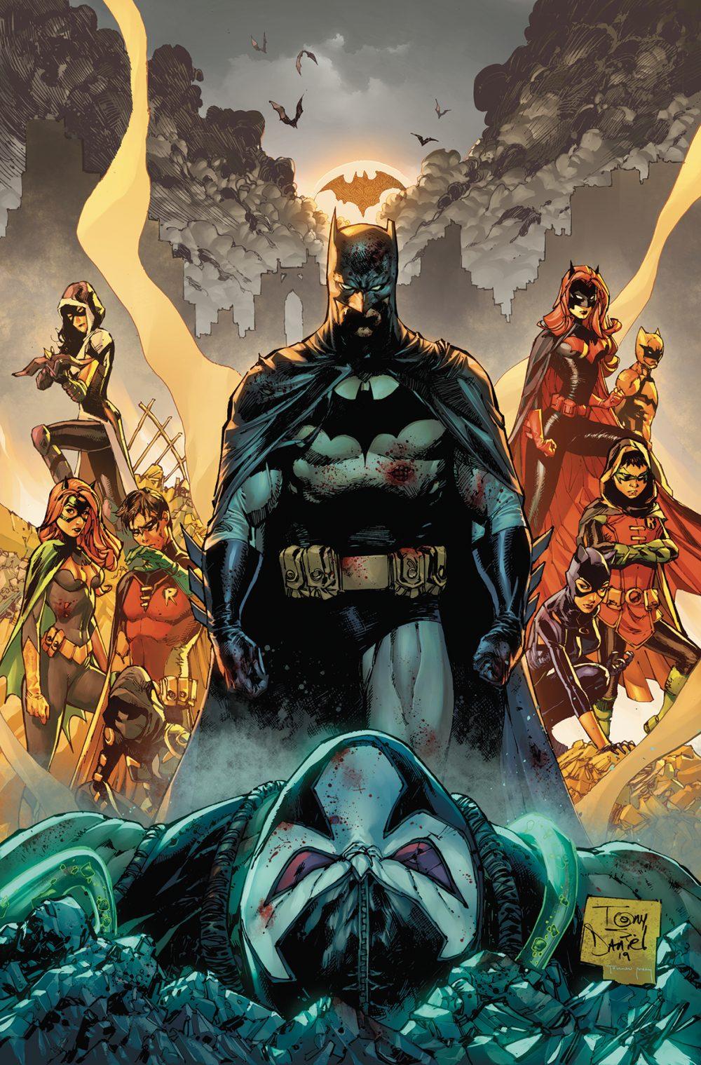 Batman #85, copertina di Tony S. Daniel
