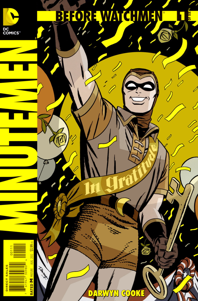 Before Watchmen: Minutemen #1, copertina di Scott Williams