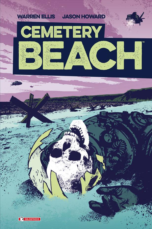 Cemetery Beach, copertina di Jason Howard