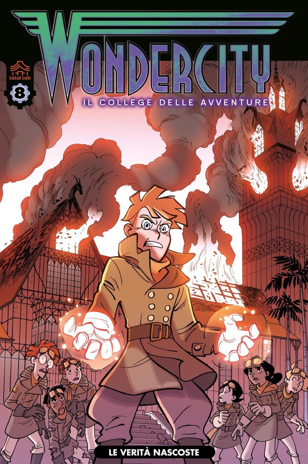 Wondercity 8, copertina di Stefano Turconi
