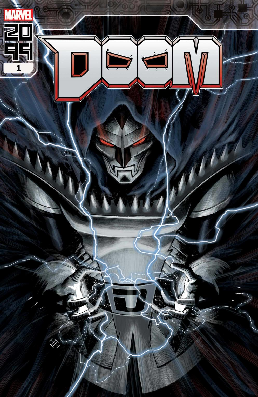 Doom 2099 #1, variant cover di Max Fiumara