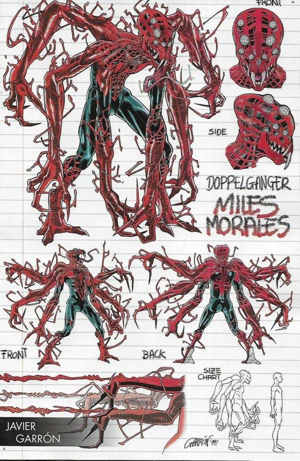 Absolute Carnage: Miles Morales #1, variant cover di Javier Garron