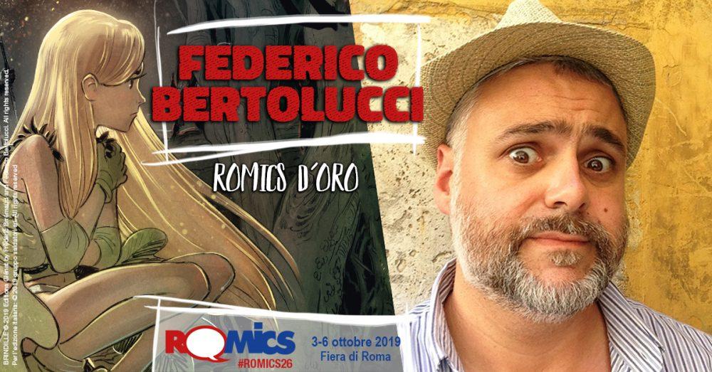 Federico Bertolucci a Romics