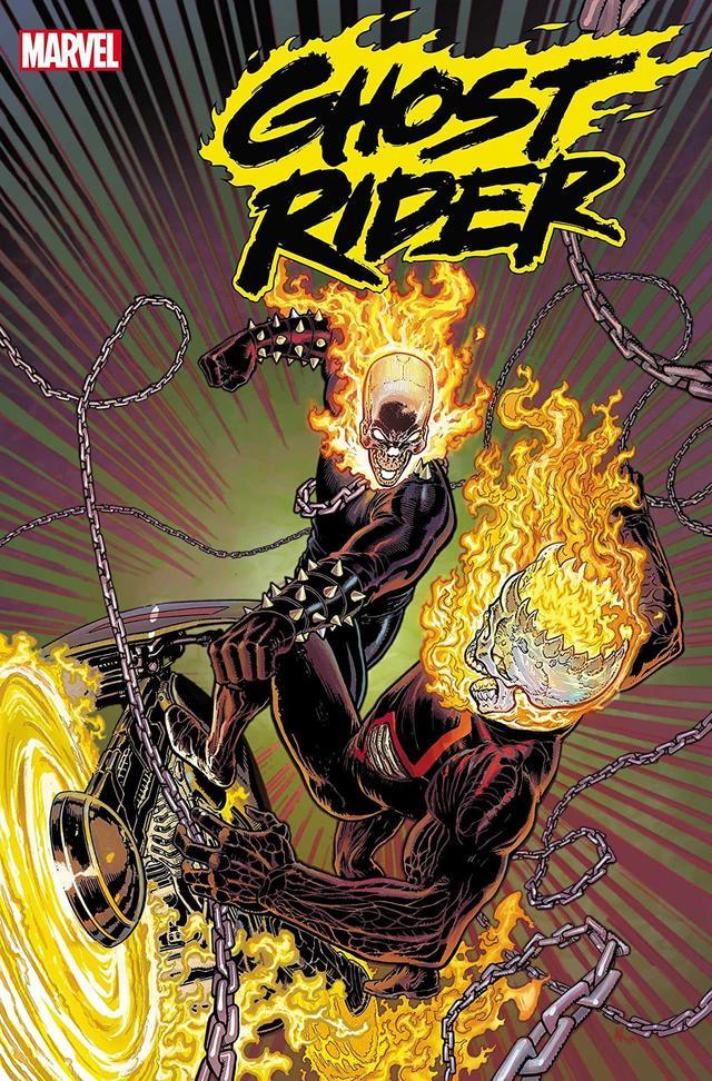 Ghost Rider #2, copertina di Aaron Kuder