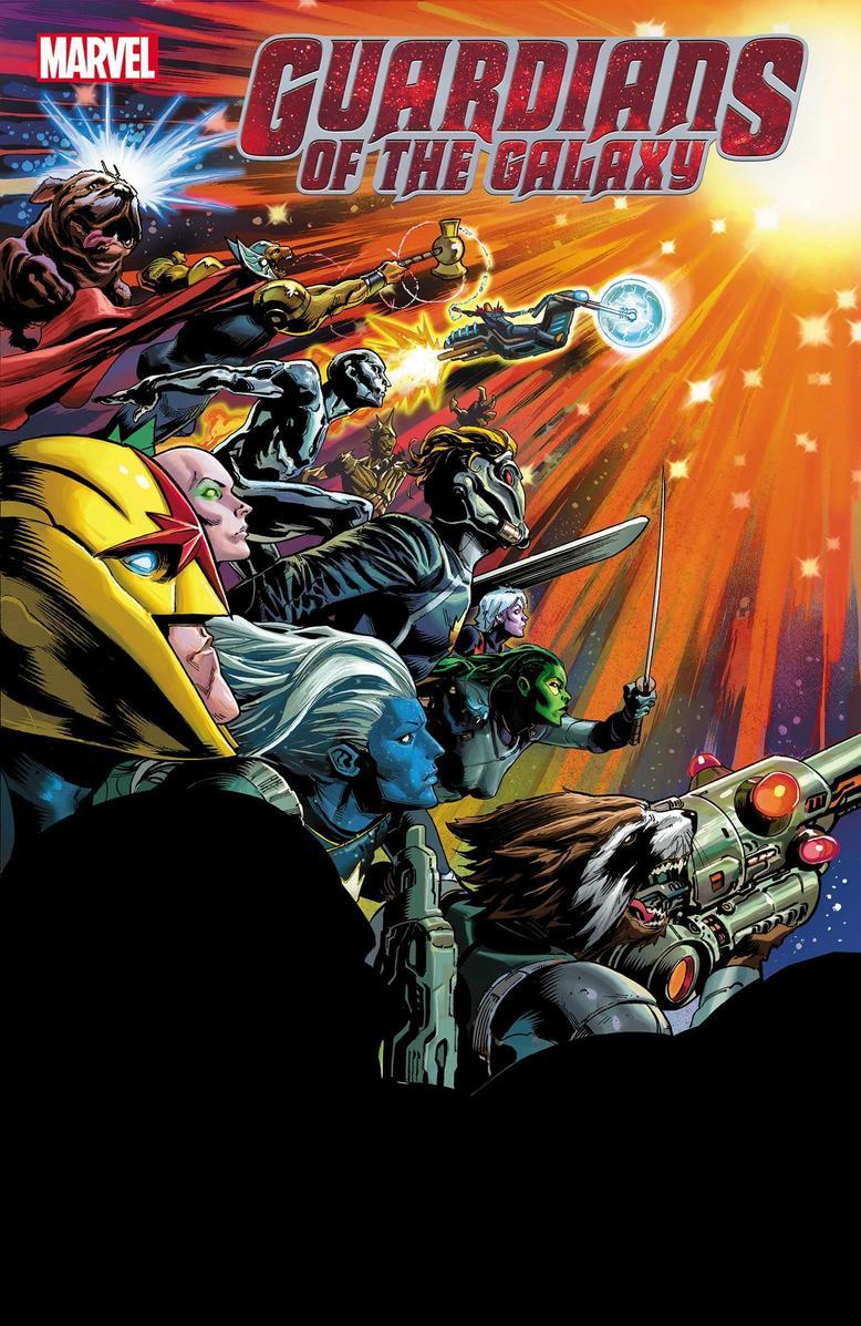 Guardians of the Galaxy #12, copertina di Geoff Shaw