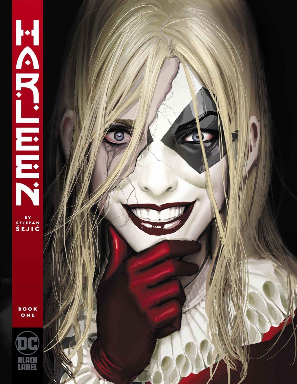 Harleen #1, copertina di Stjepan Seijc