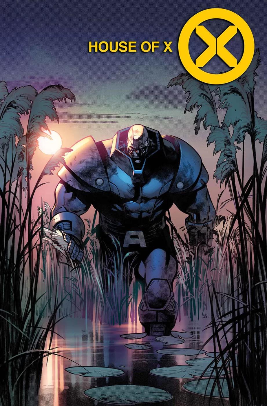 House of X #5, copertina di Pepe Larraz