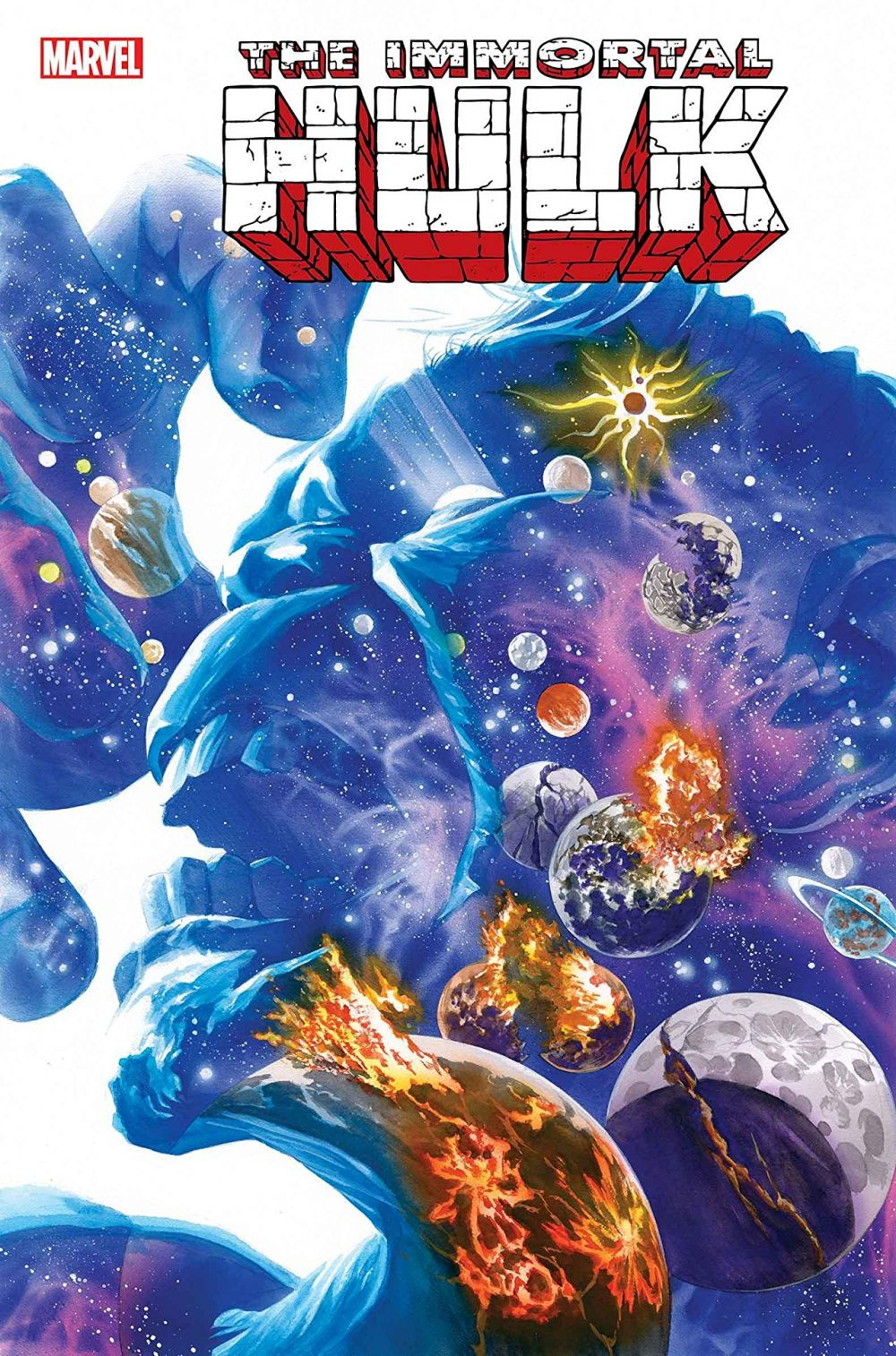 Immortal Hulk #25, copertina di Alex Ross