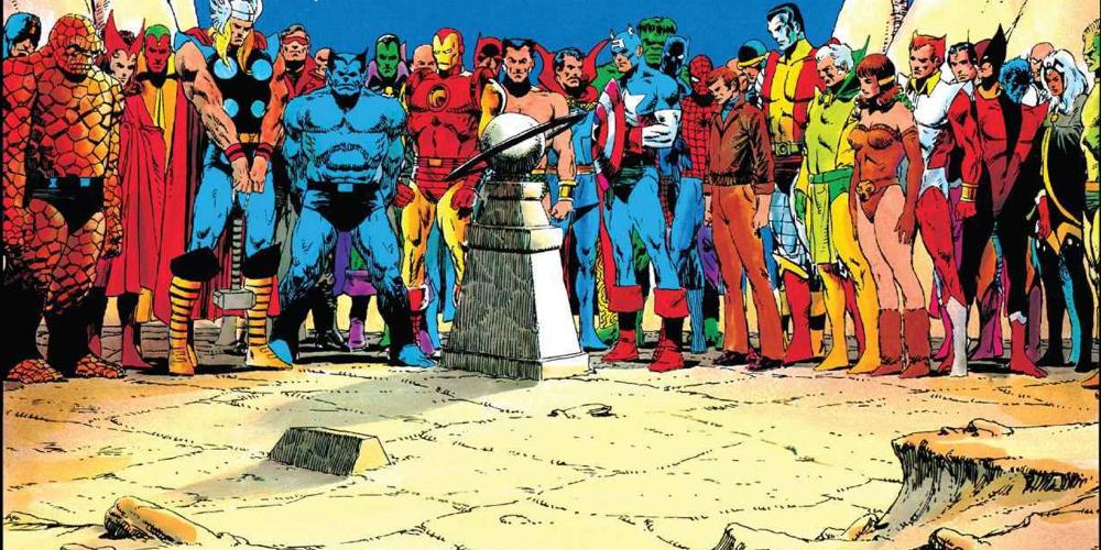 Marvel Comics #1000, In Memoriam