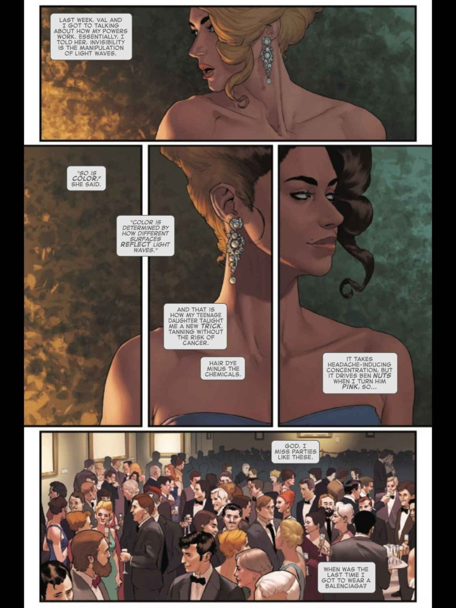 Invisible Woman #3, anteprima 01