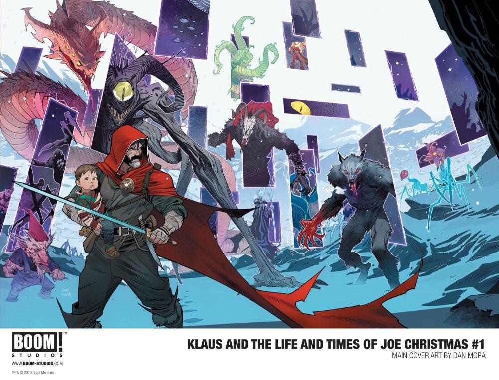 Klaus And The Life & Times Of Joe Christmas #1, copertina di Dan Mora
