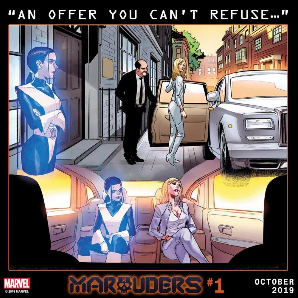 Marauders #1, teaser di Matteo Lolli