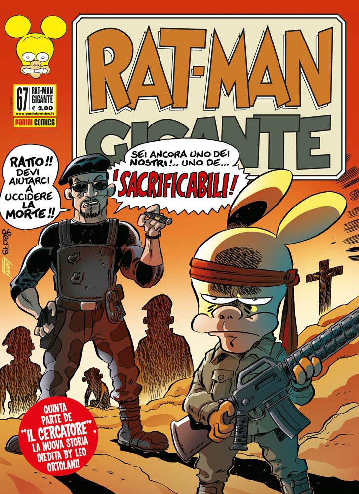 Rat-Man Gigante 67, copertina di Leo Ortolani