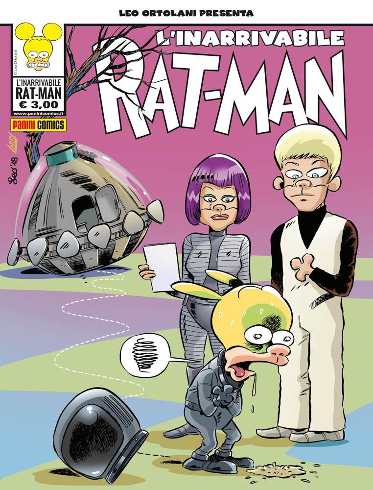 L'inarrivabile Rat-Man, copertina di Leo Ortolani