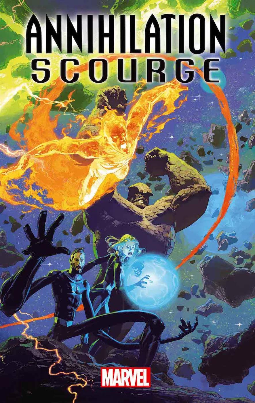 Annihilation - Scourge: Fantastic Four, copertina di Josemaria Casanovas