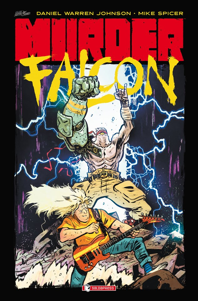 Murder Falcon, copertina di Daniel Warren Johnson