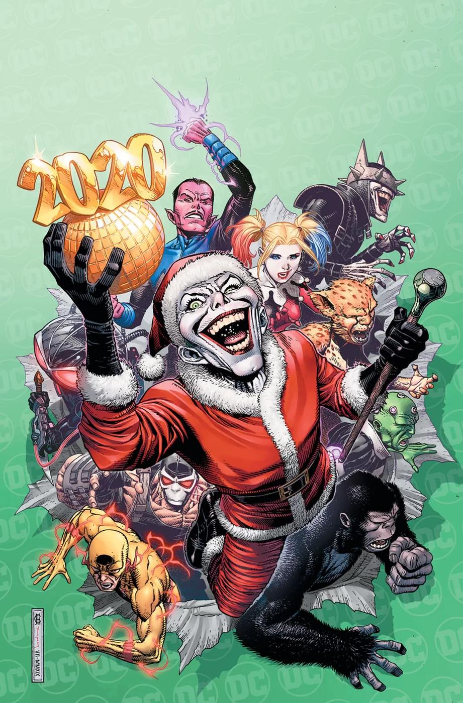 New Year's Evil #1, copertina di Jim Cheung