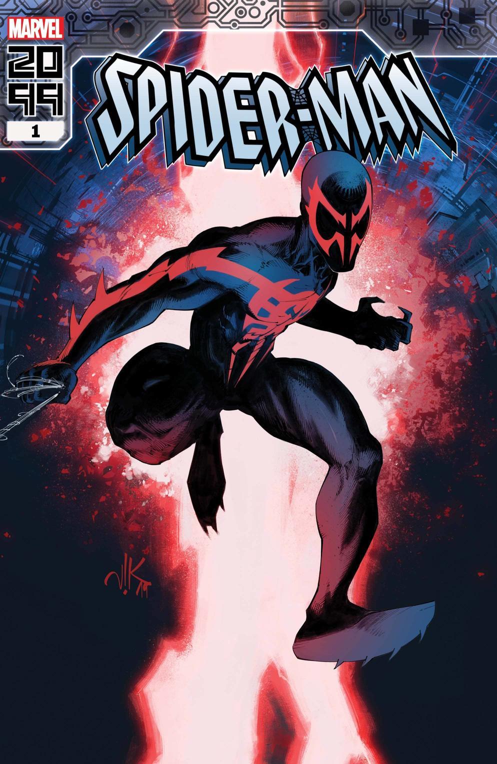Spider-Man 2099 #1, copertina di Viktor Bogdanovic