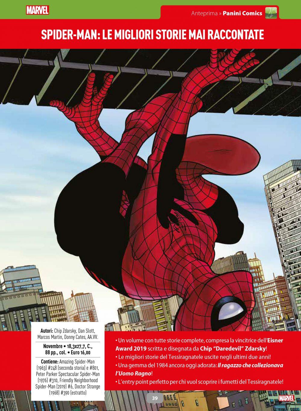 Spider-Man: Le migliori storie mai raccontate su Anteprima