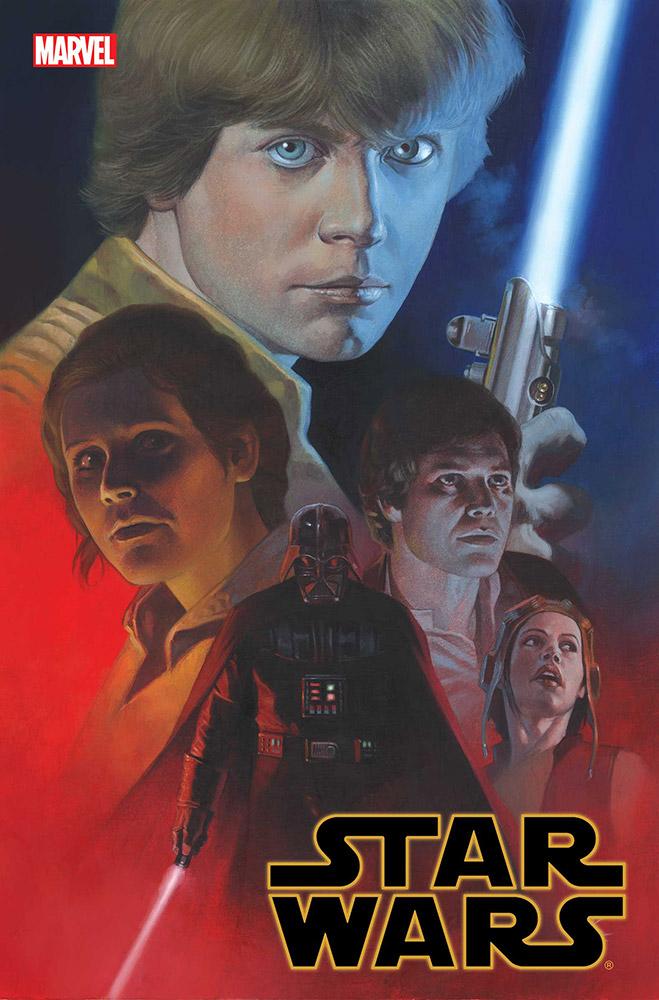 Star Wars: Empire Ascendant #1, copertina di Riccardo Federici