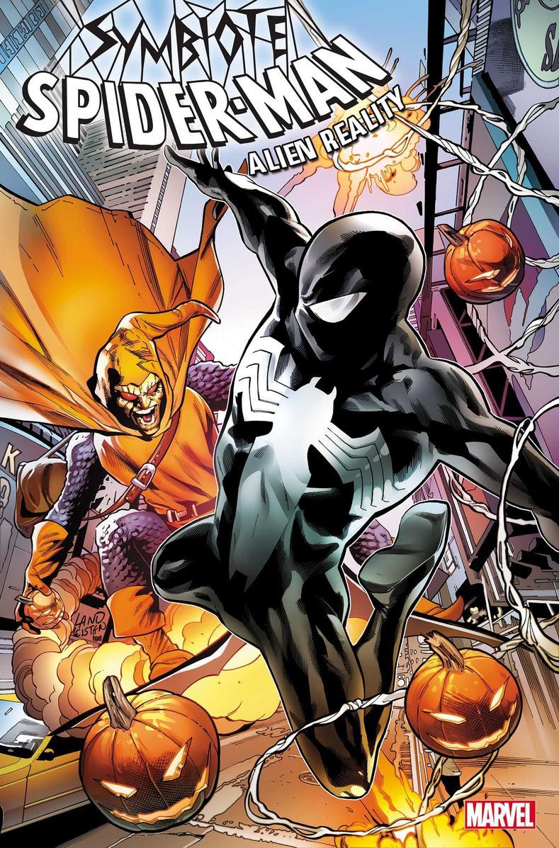 Symbiote Spider-Man: Alien Reality #1, copertina di Greg Land