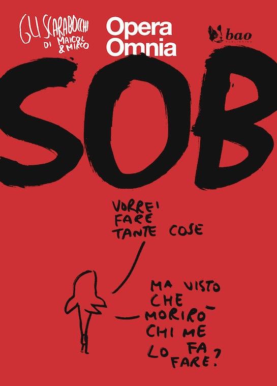 Gli Scarabocchi di Maicol & Mirco vol. 2: Sob, copertina di Maicol & Mirco