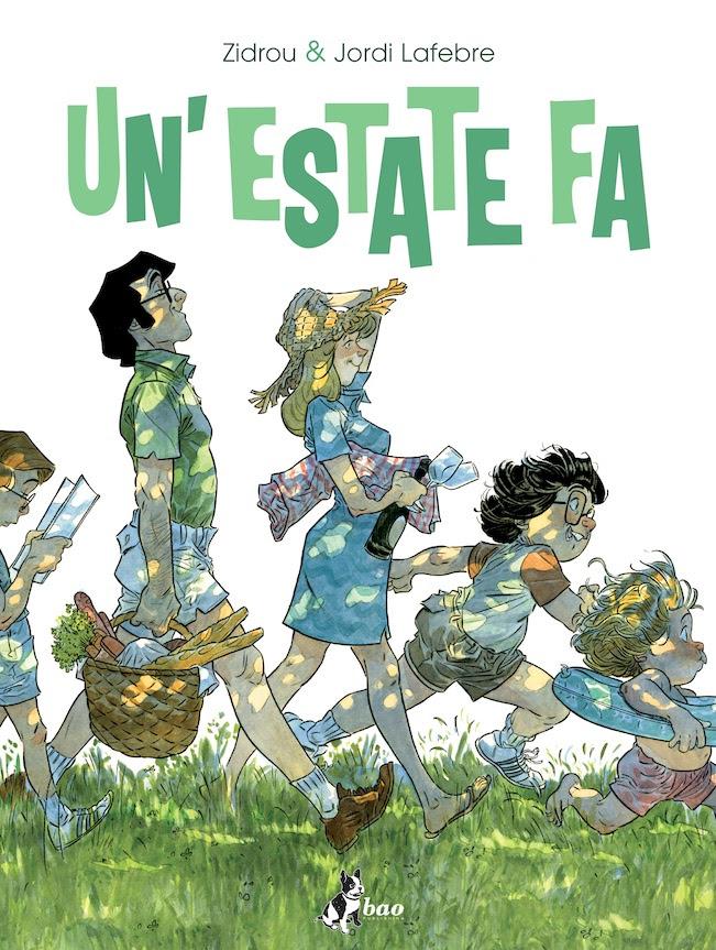Un'estate fa vol. 1, copertina di Jordi Lafebre