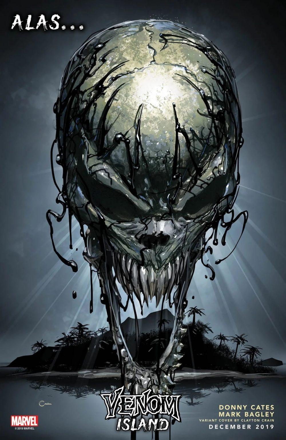 Venom #21, variant cover di Clayton Crain
