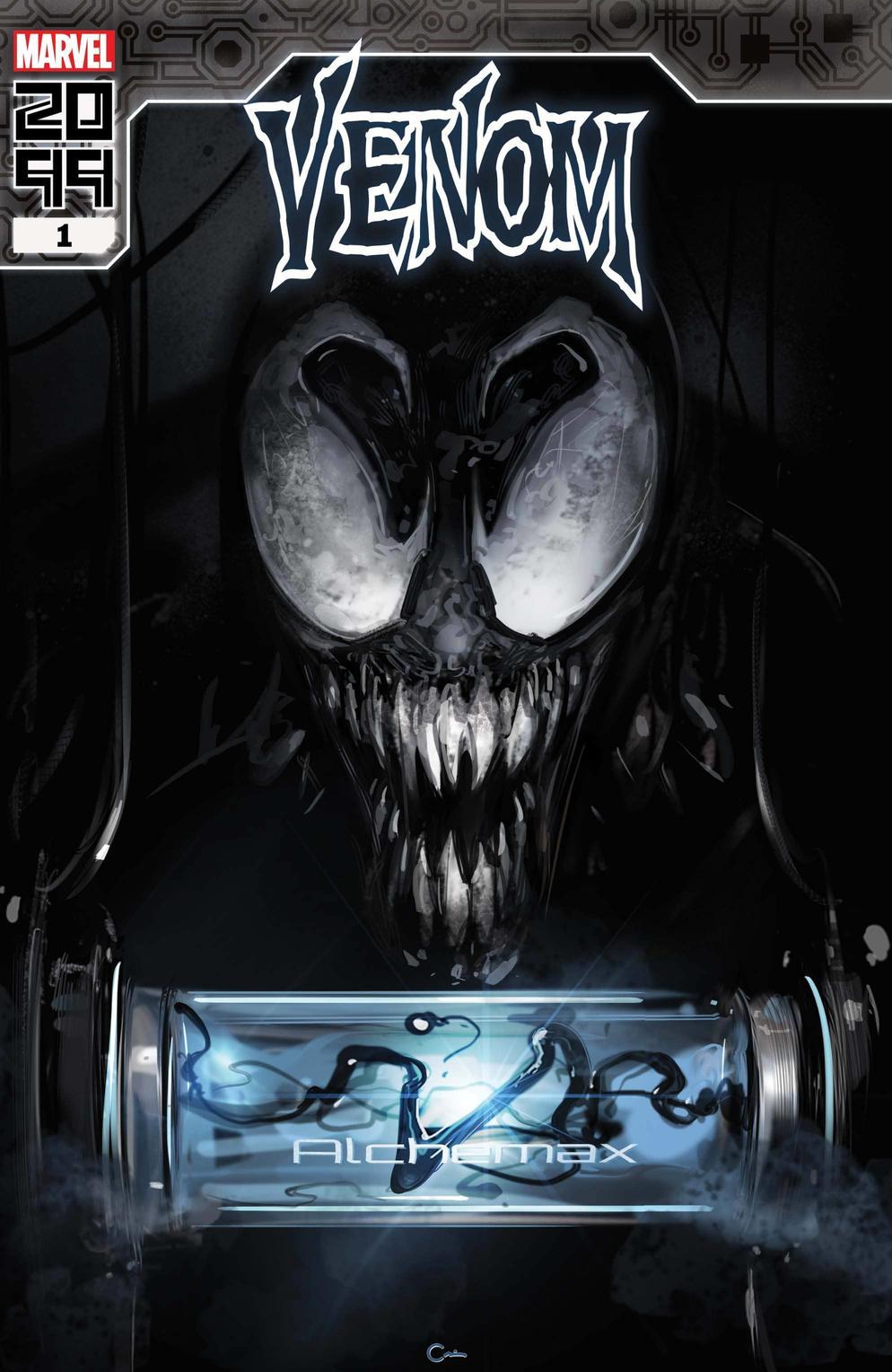 Venom 2099 #1, copertina di Clayton Crain