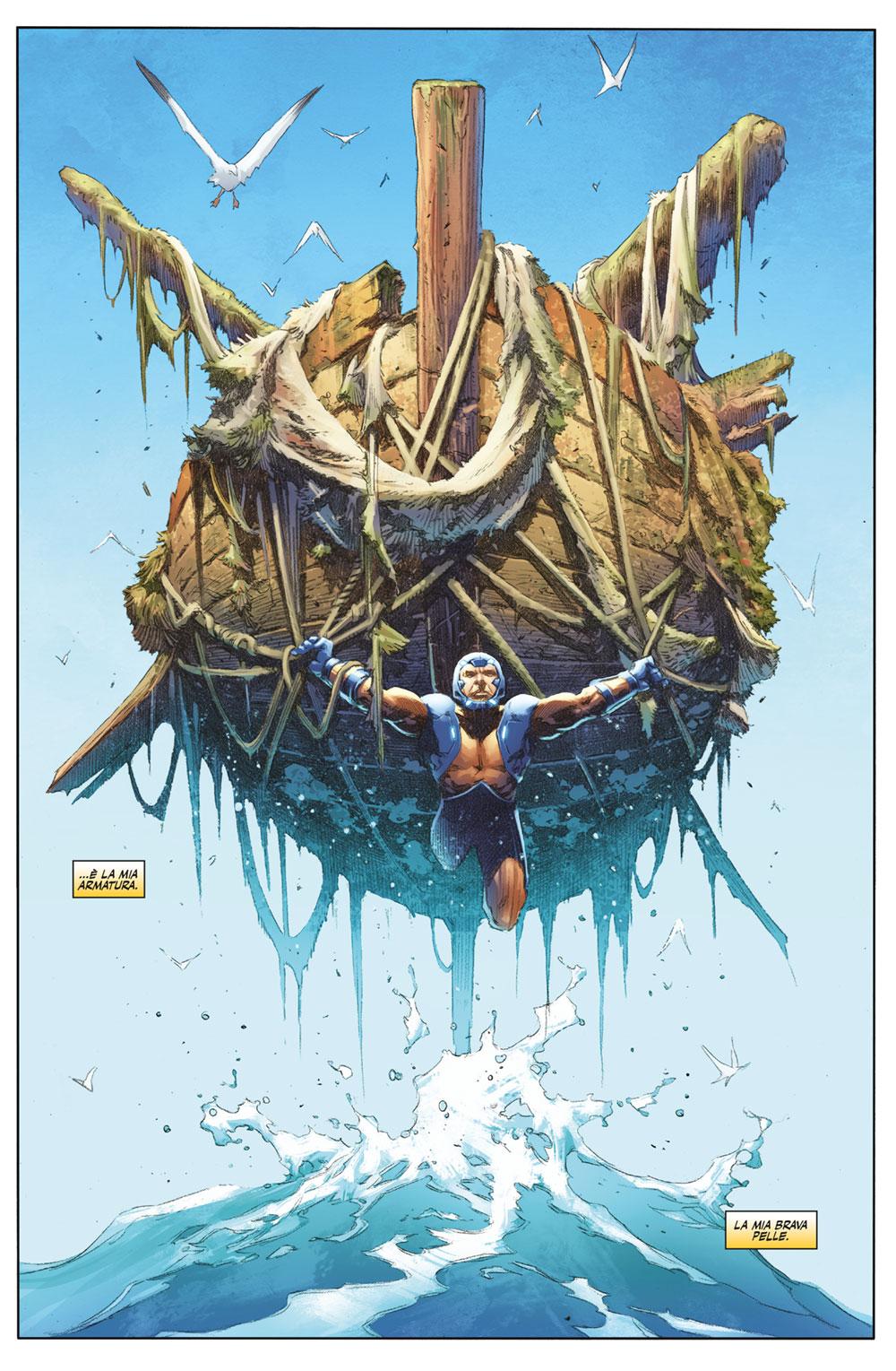 X-O Manowar vol. 7: Eroe, anteprima 04