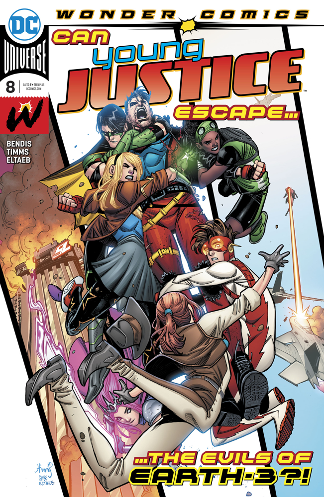 Young Justice #8, copertina di John Timms